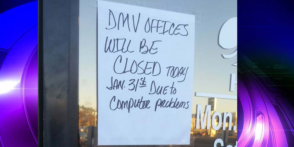 DMV extends renewal date for customers after IT systems failure