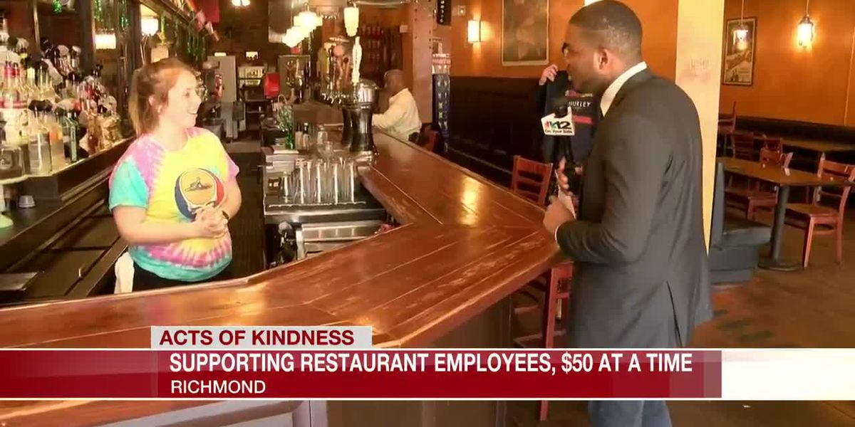 Supporting restaurant employees, $50 at a time