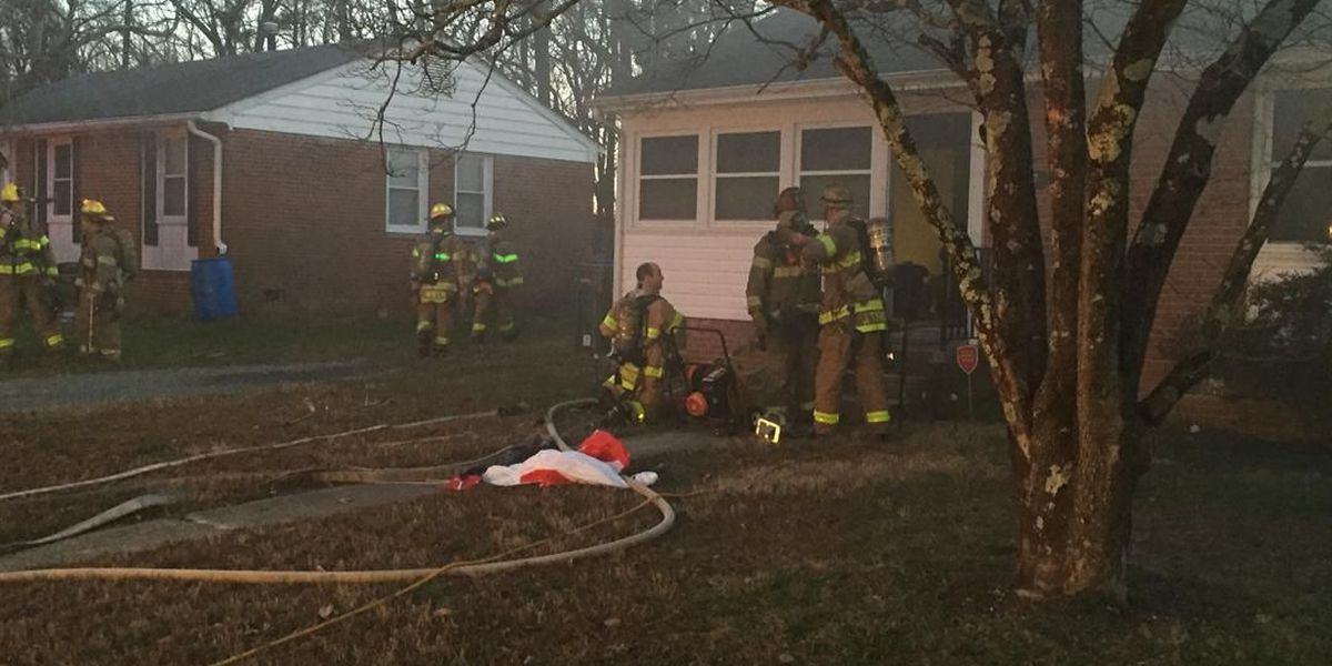 Four people, including 2 children, displaced after Henrico house fire