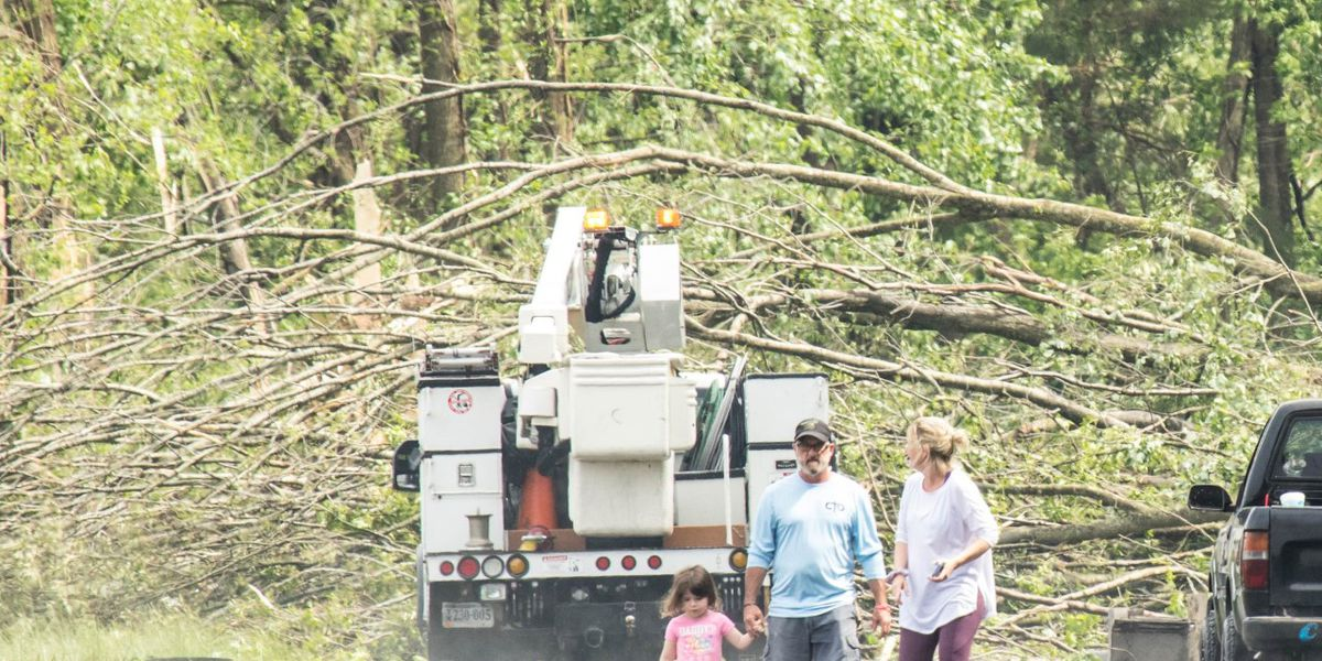 NNEC restores 100% power to all customers after possible tornado