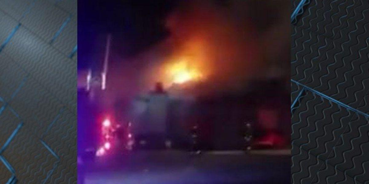 Popular Petersburg restaurant goes up in flames