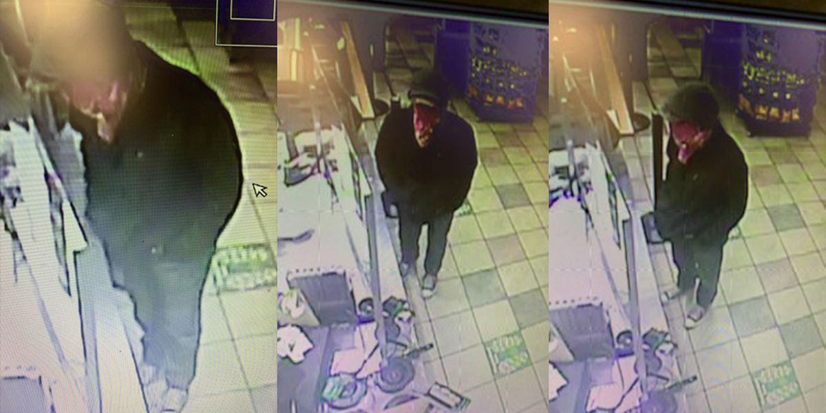 Chesterfield police searching for man suspected of robbing Subway