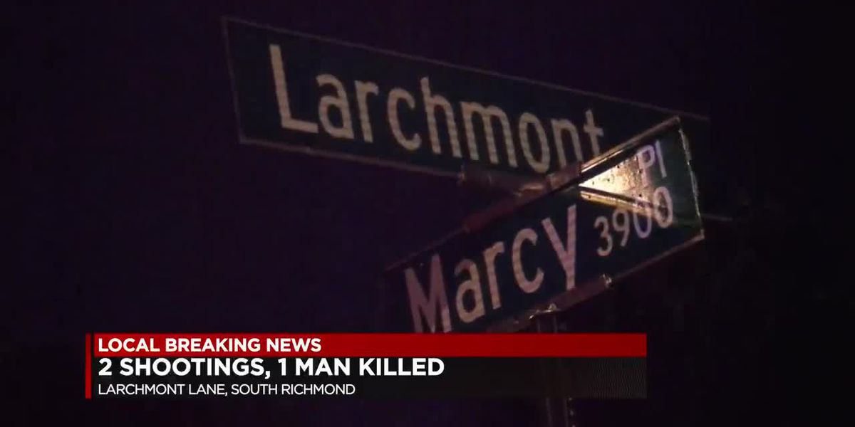 1 killed, 1 wounded in Richmond shootings