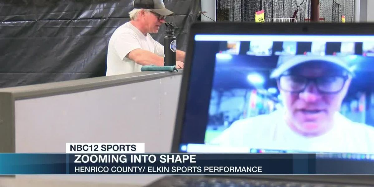 Henrico trainer using Zoom to keep athletes going