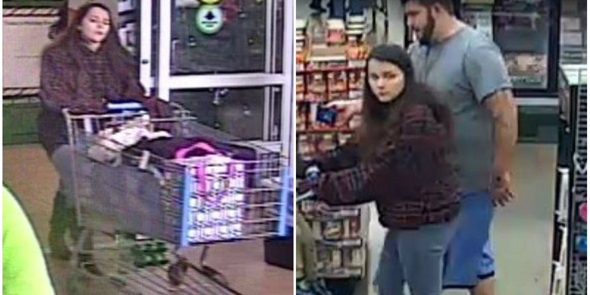 Caught on Camera: Thieves steal $800 worth of items from Walmart