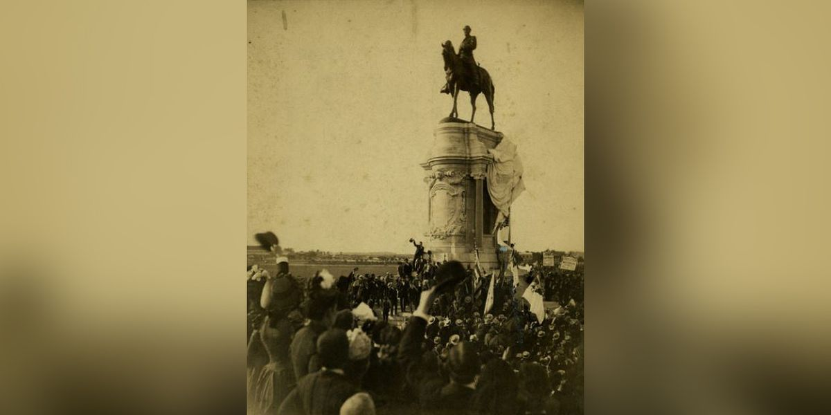 On this day: Robert E. Lee statue is unveiled in Richmond - the beginning of Monument Avenue