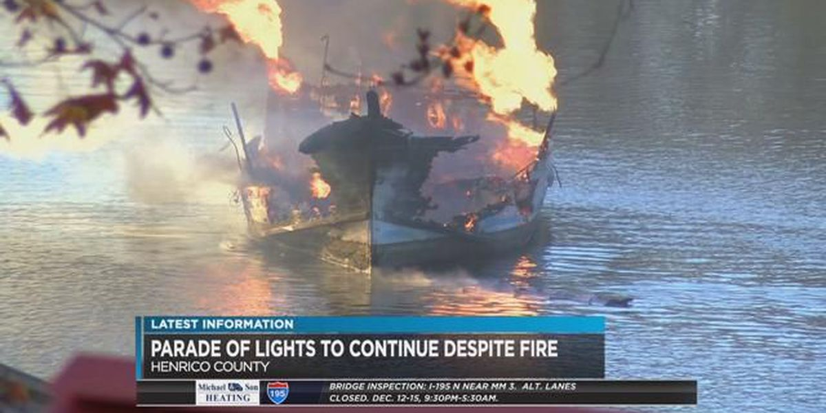 Boat owner unable to participate in the Parade of Lights after marina fire