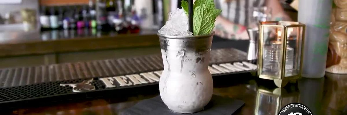 Mint Julep recipe from bartender Sophia Kim from Saison