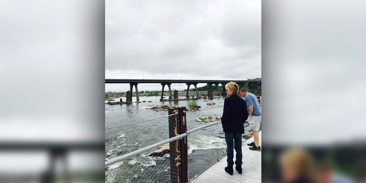 Author Patricia Cornwell back in Central Virginia