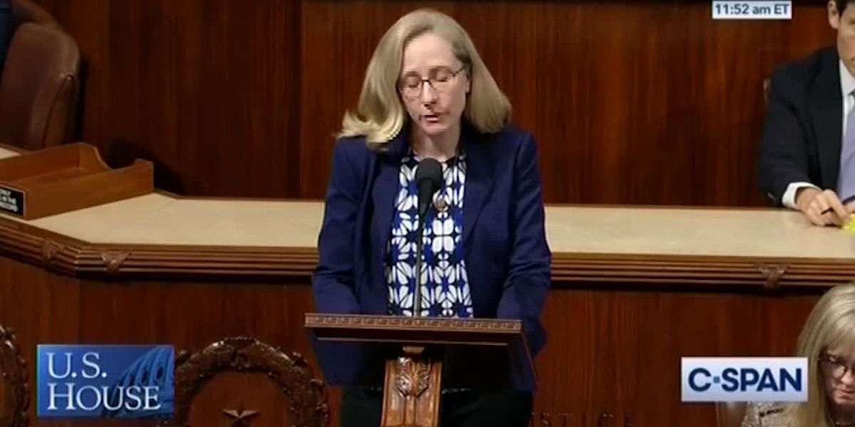 Spanberger honors slain 9-year-old on House floor