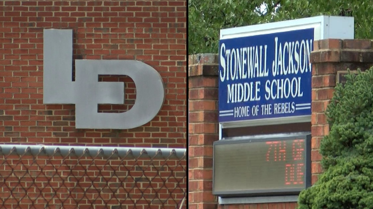 Hanover residents sound off after school board's decision to rename Lee Davis HS and Stonewall Jackson middle