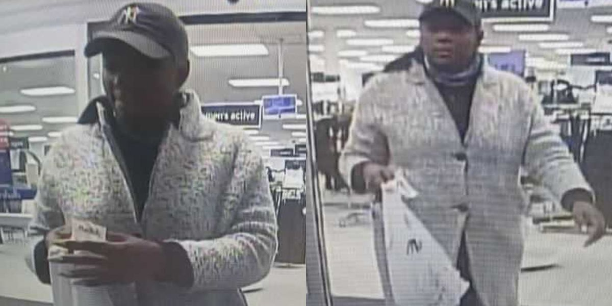 Deputies search for person who shoplifted at Marshalls