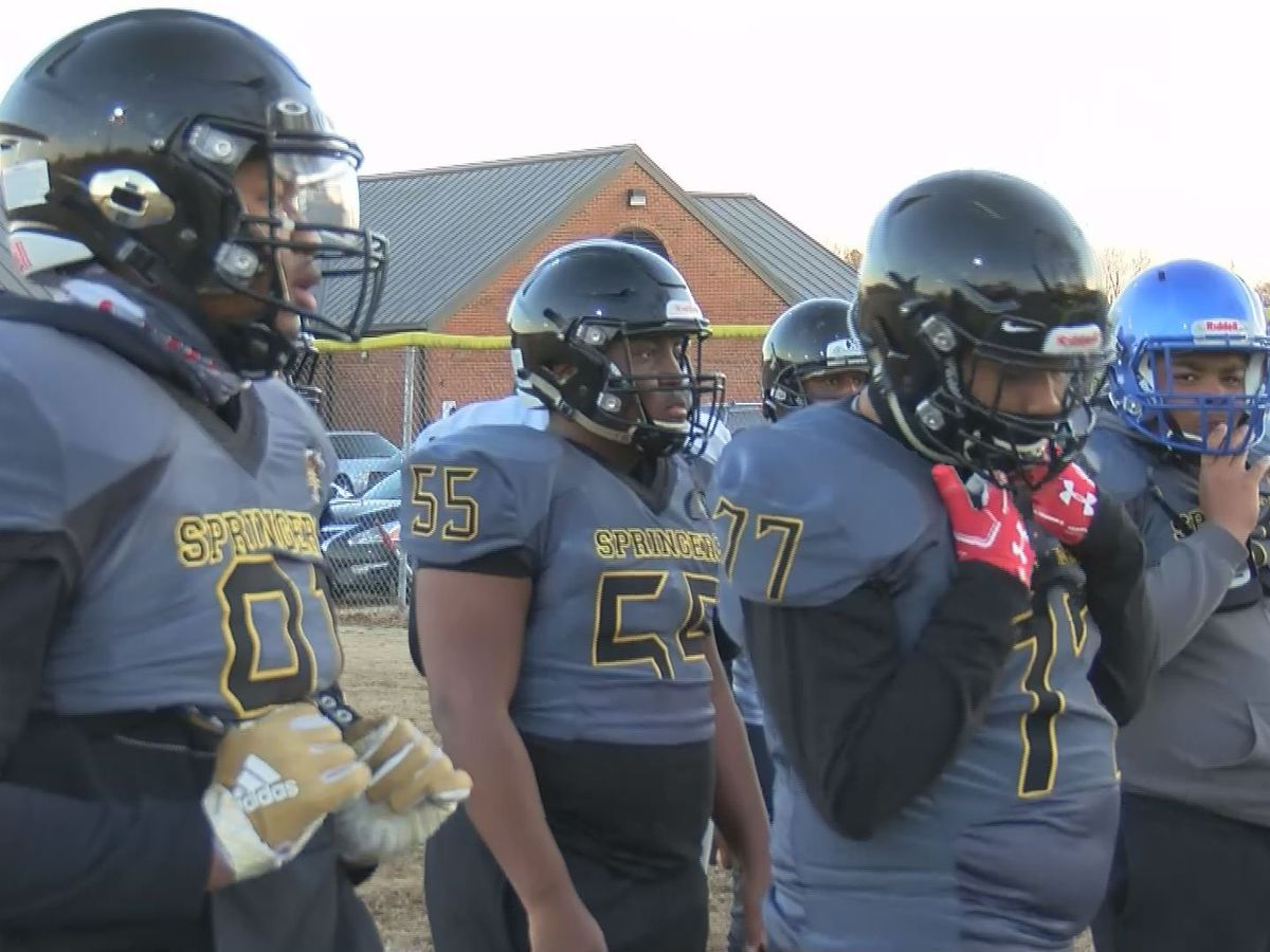 Highland Springs football advances as 5B champion after no contest