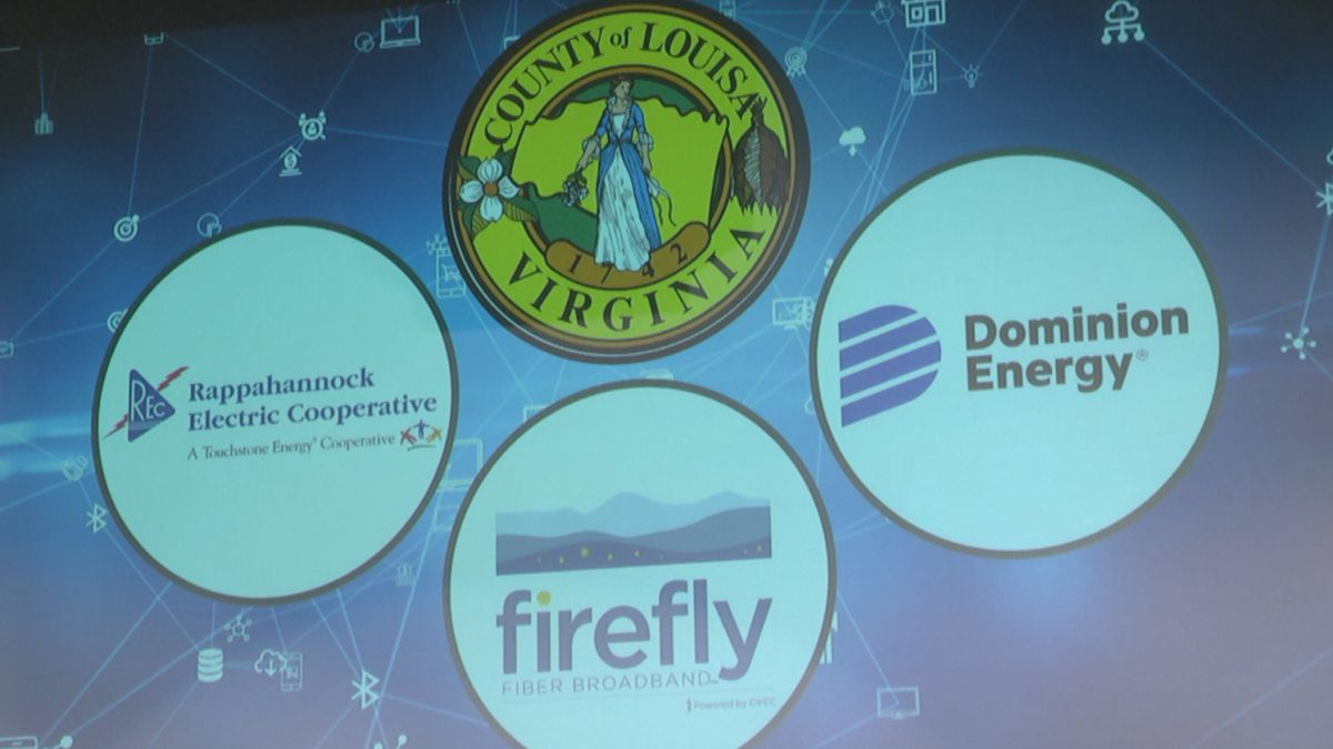 Louisa County announces partnership to bring internet to all homes and businesses by 2025