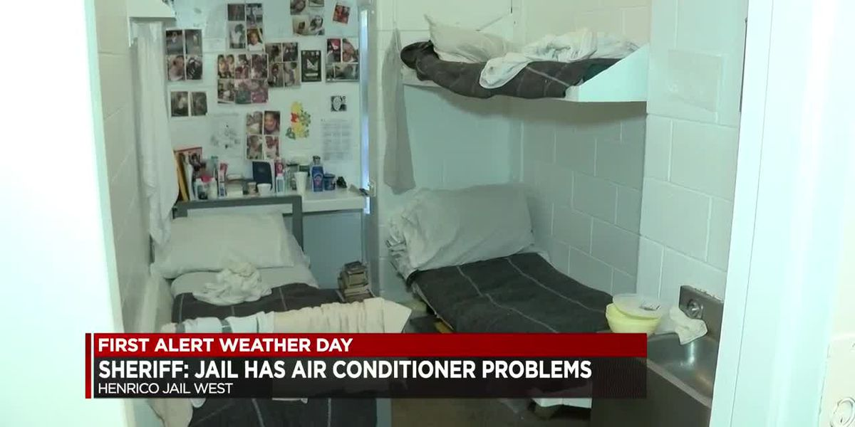 Sheriff: Jail has air conditioner problems
