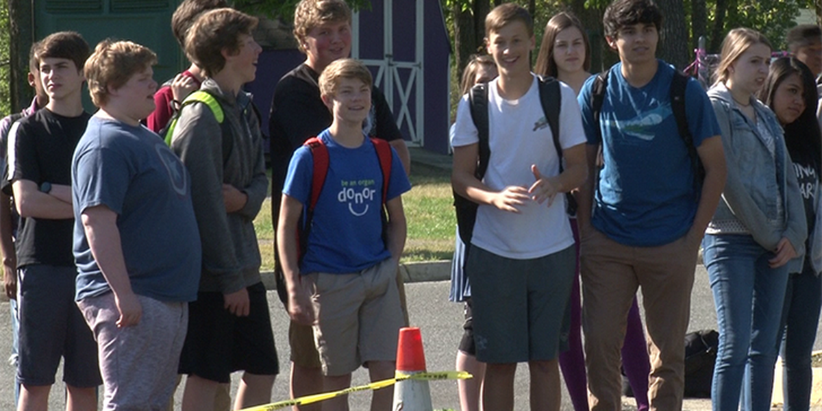 Demonstration shows JRHS students consequences of distracted driving