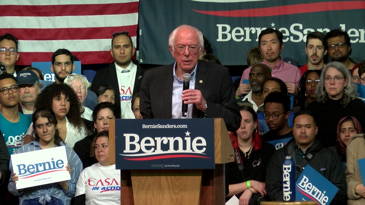 Bernie Sanders rallies thousands in Richmond ahead of Super Tuesday