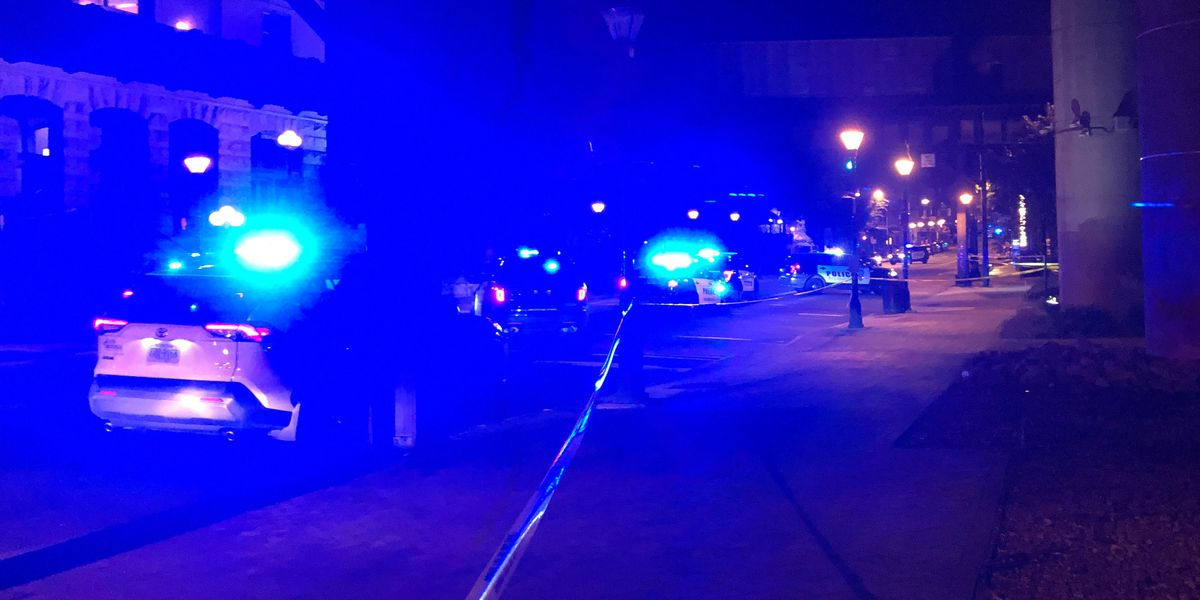 Pedestrians hit in Shockoe Bottom crash