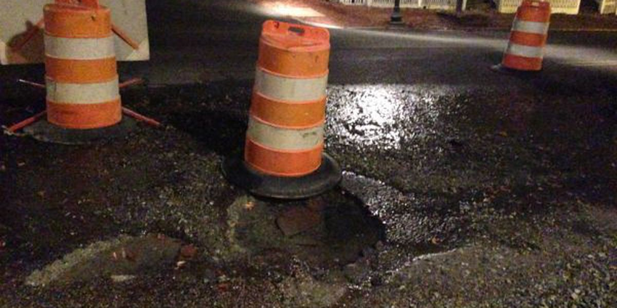 TRAFFIC ALERT: Section of E. Broad in Richmond closed to water line break