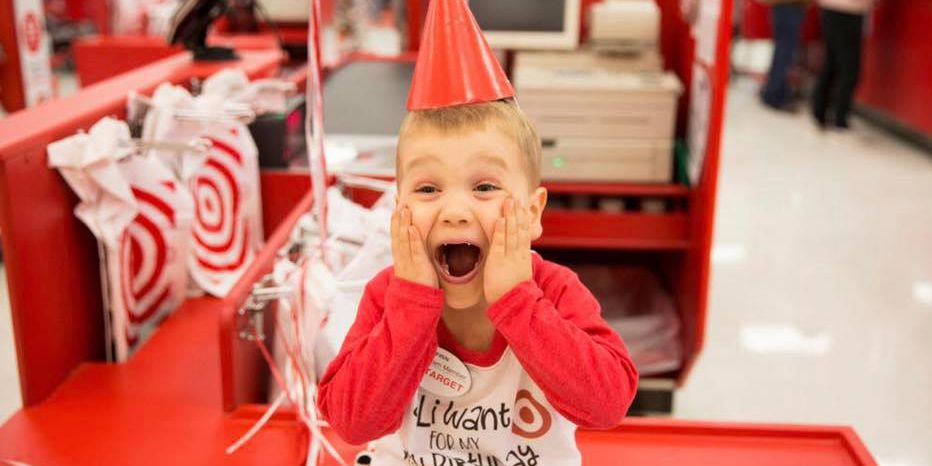 4-year-old heart disease survivor spends birthday at Target