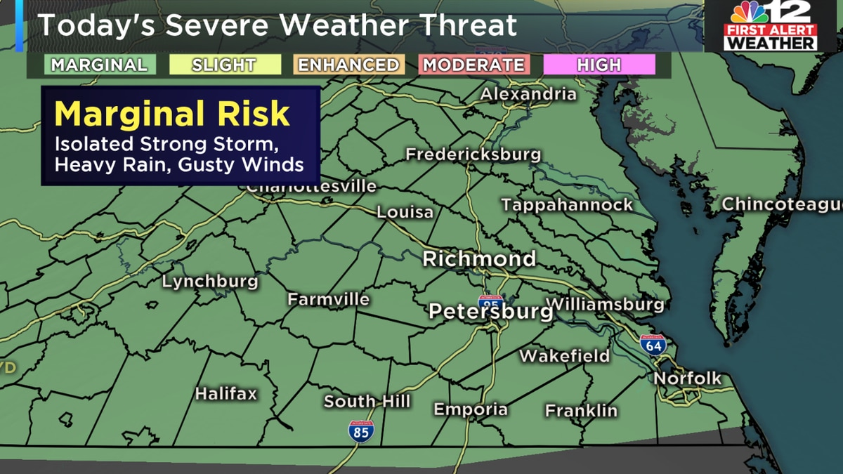 First Alert Weather Day: More severe storms possible