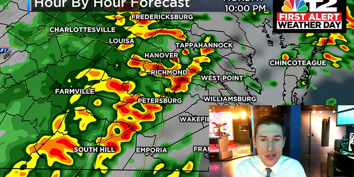 One more day of high heat, severe storm potential Monday