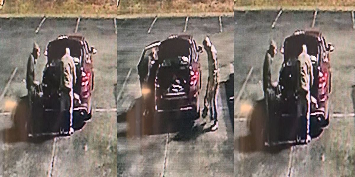 Police search for suspects who stole catalytic converter off church van