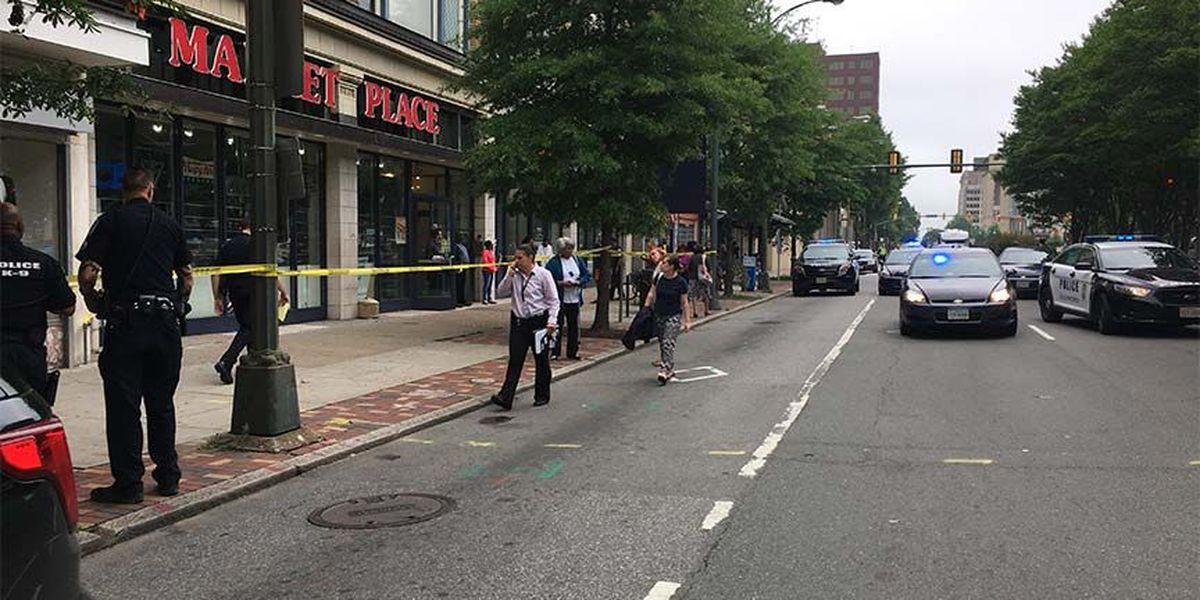 Witness: Man shot near bus stop on E. Broad Street