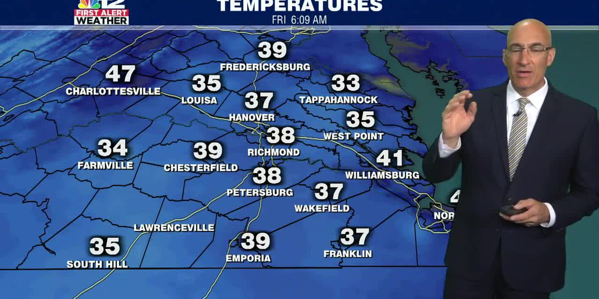Forecast: Cool, breezy and sunny Today, weekend looking good