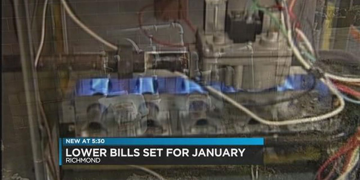 Richmond utility bills to decrease with lower natural gas costs