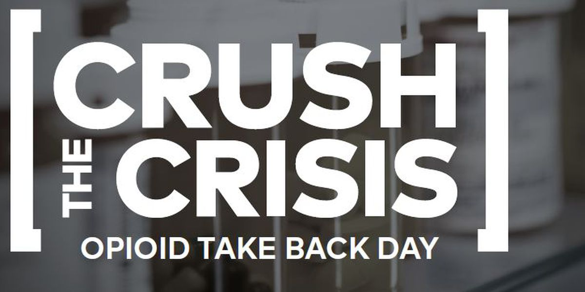 Crush the Crisis aims to take back unused opioid drugs