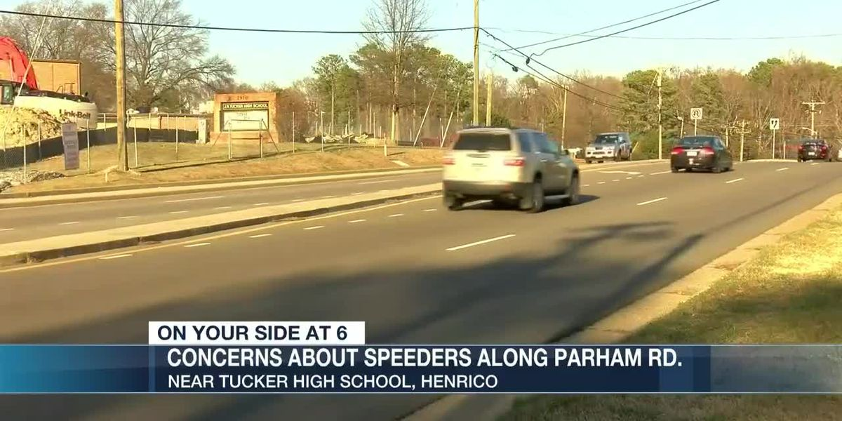 Concerns over speeding drivers on Parham Rd. near high school