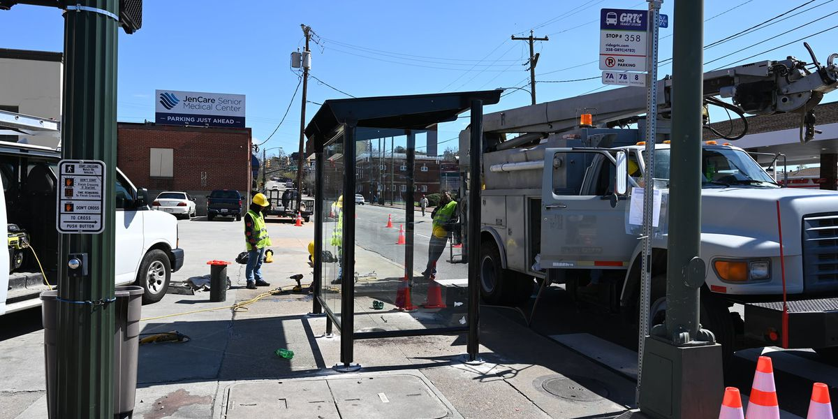 GRTC to install new bus stop shelters; closures expected