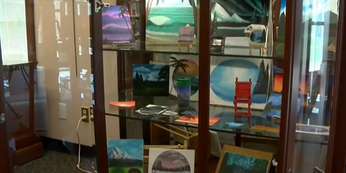 Virginia 16-year-old learns how to paint masterpieces during quarantine