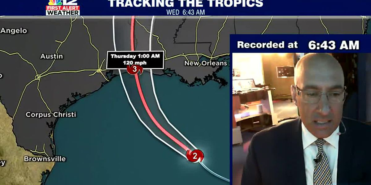 Laura Strengthens overnight, almost a Category 3