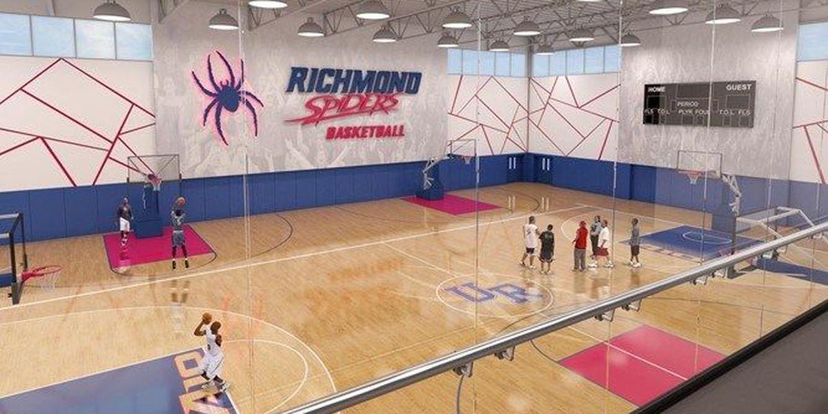 Richmond announces plans for basketball practice facility