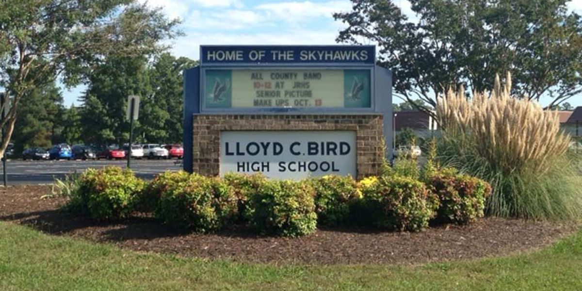 Student intentionally tried to cut self at LC Bird