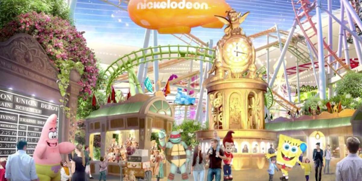 Nickelodeon theme park opening this week