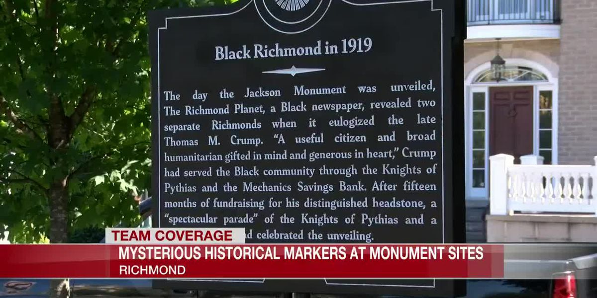 New historical markers popping up in place of Confederate monuments