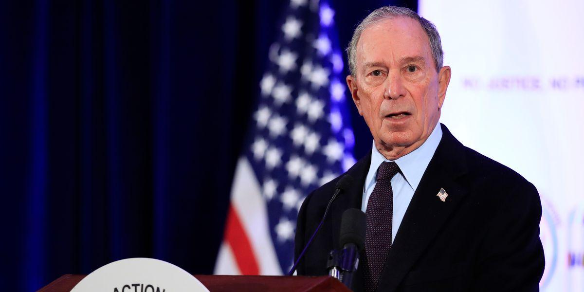 Michael Bloomberg launches Democratic presidential bid
