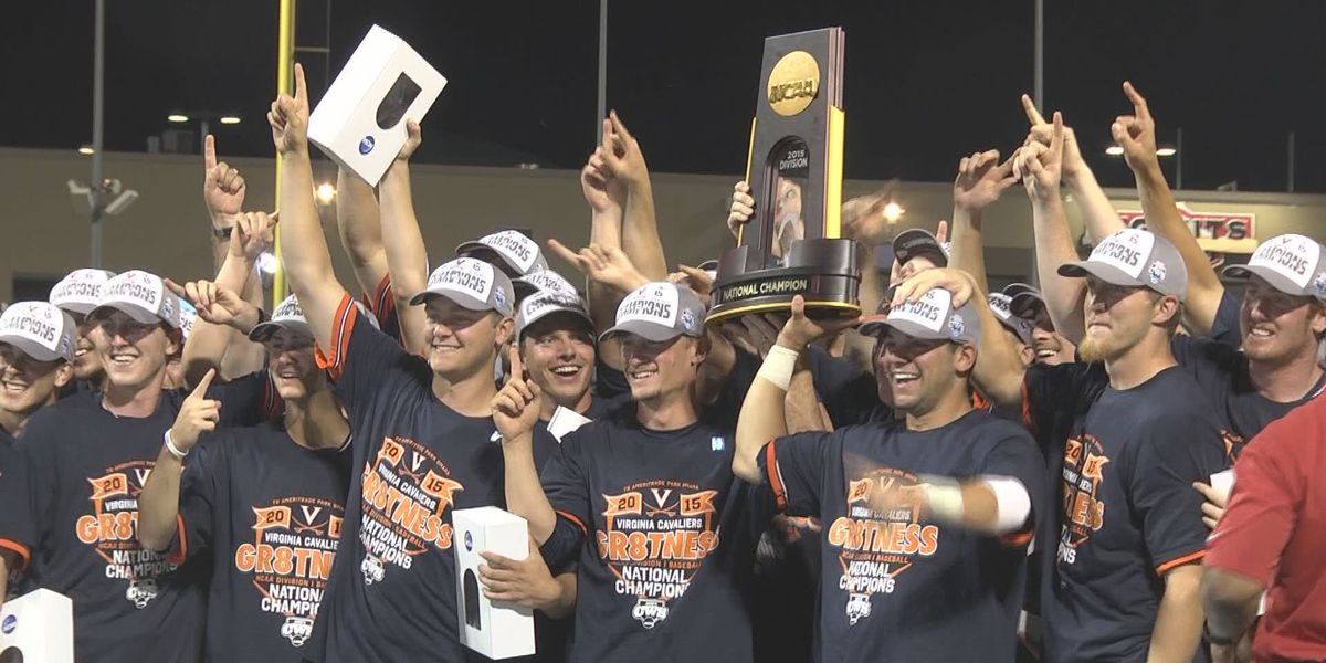 Five-year anniversary of UVA Baseball's first-ever College World Series title