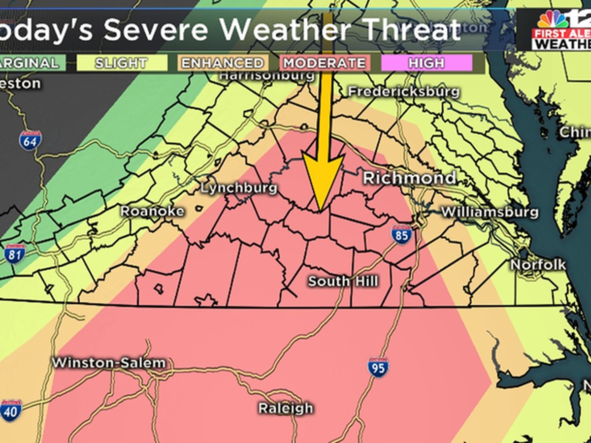 First Alert Weather Day: Tornado, Severe Thunderstorm Warnings issued throughout area