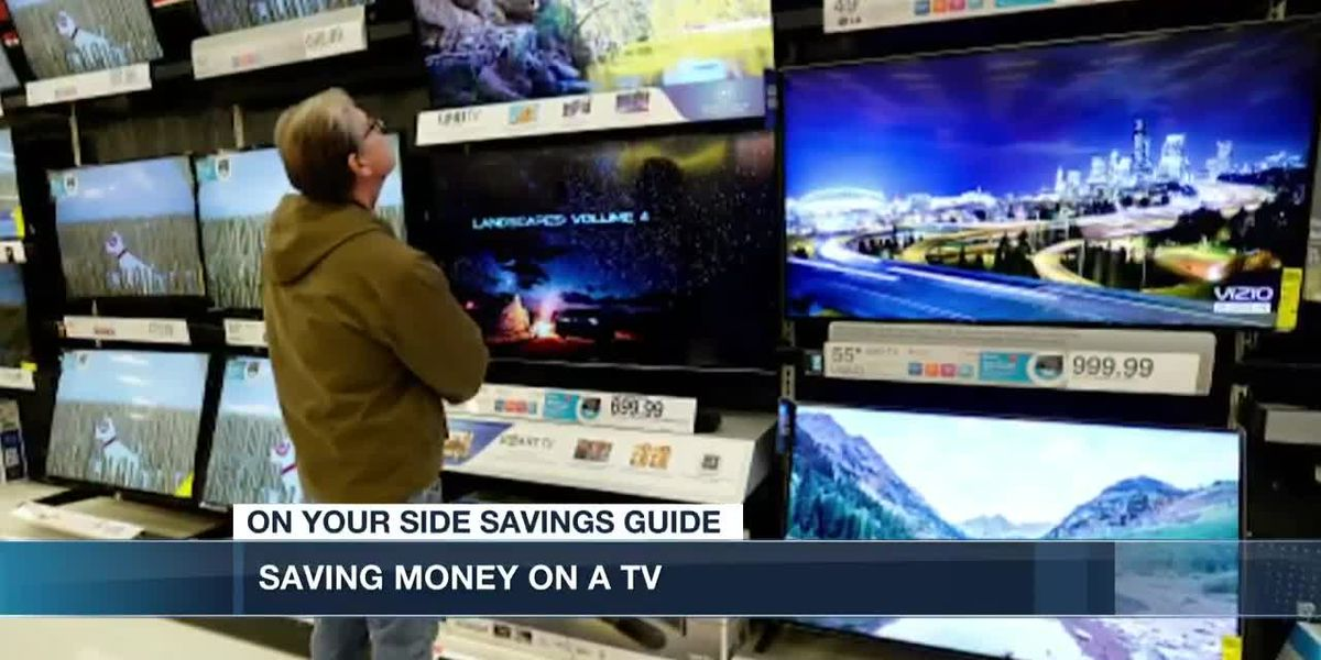 If you are looking for a new TV, this is the time of year to find the best deals