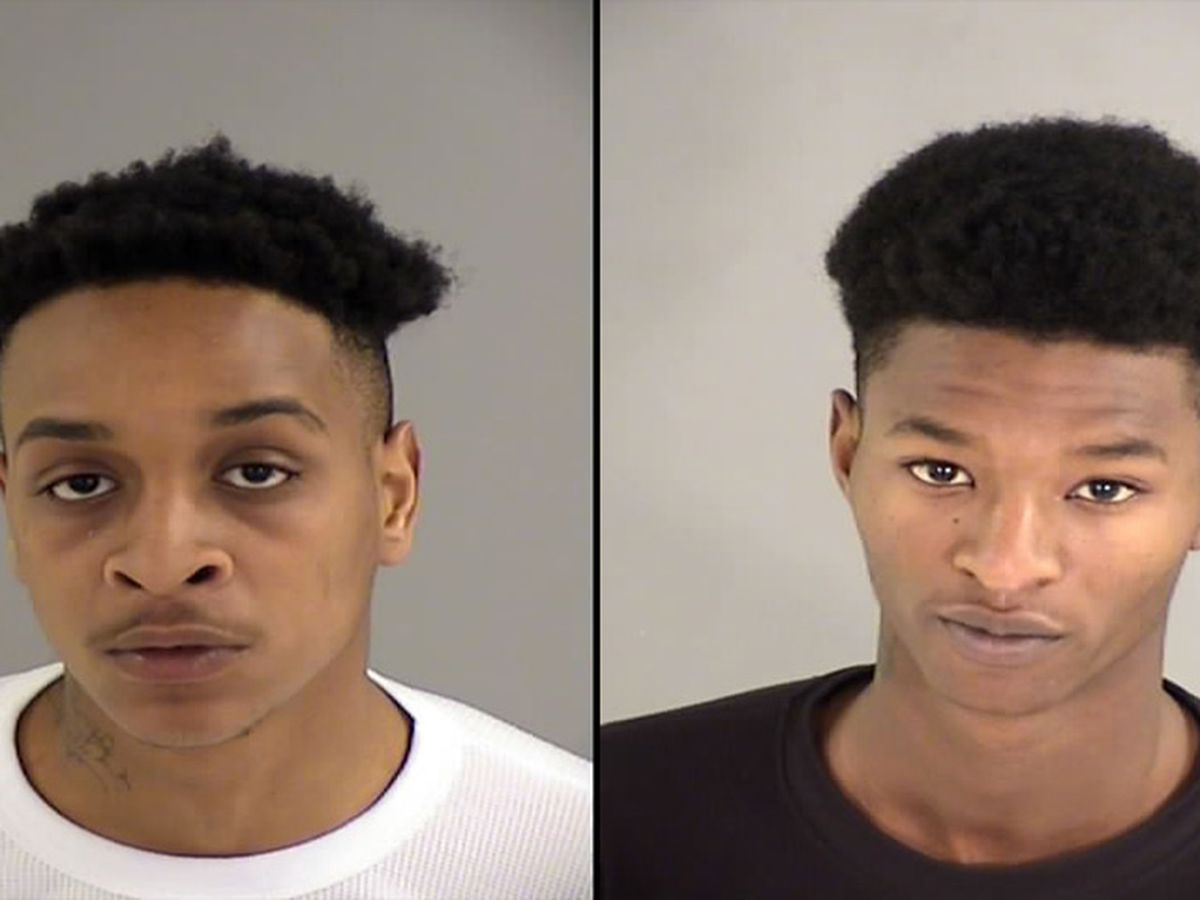 Police: 2 arrested after robbing victim of weapon