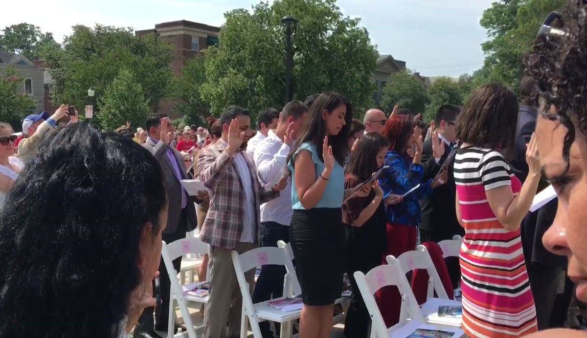 Richmond welcomes newest American citizens in naturalization ceremony