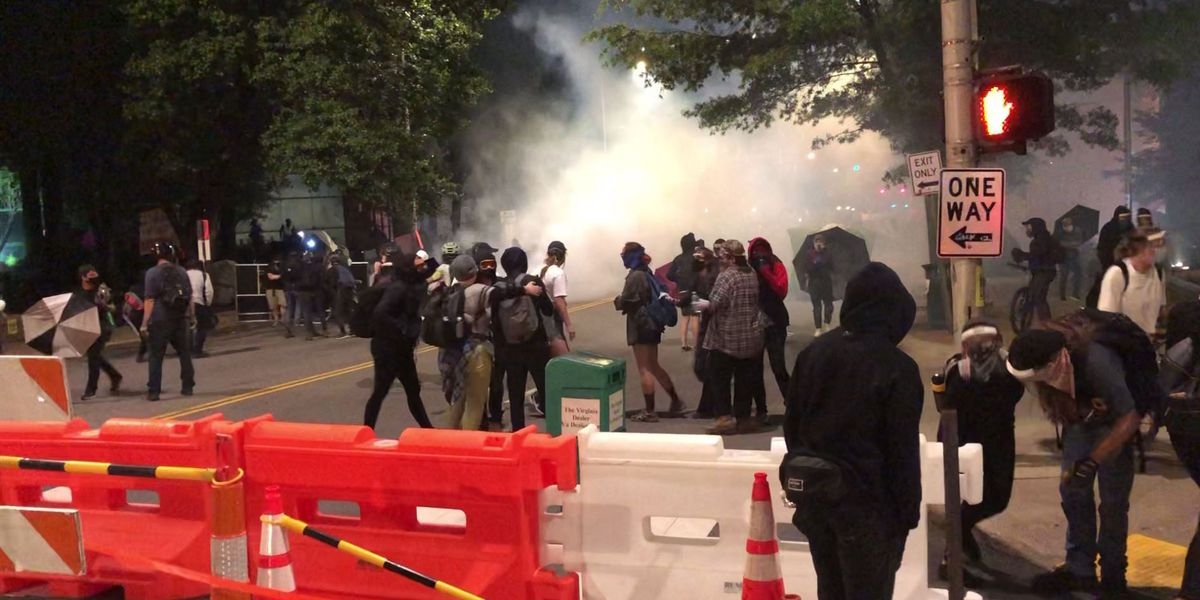 12 protesters arrested for unlawful assembly of 'Reclamation Square' outside City Hall