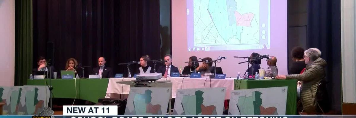 Richmond School Board fails to agree on rezoning