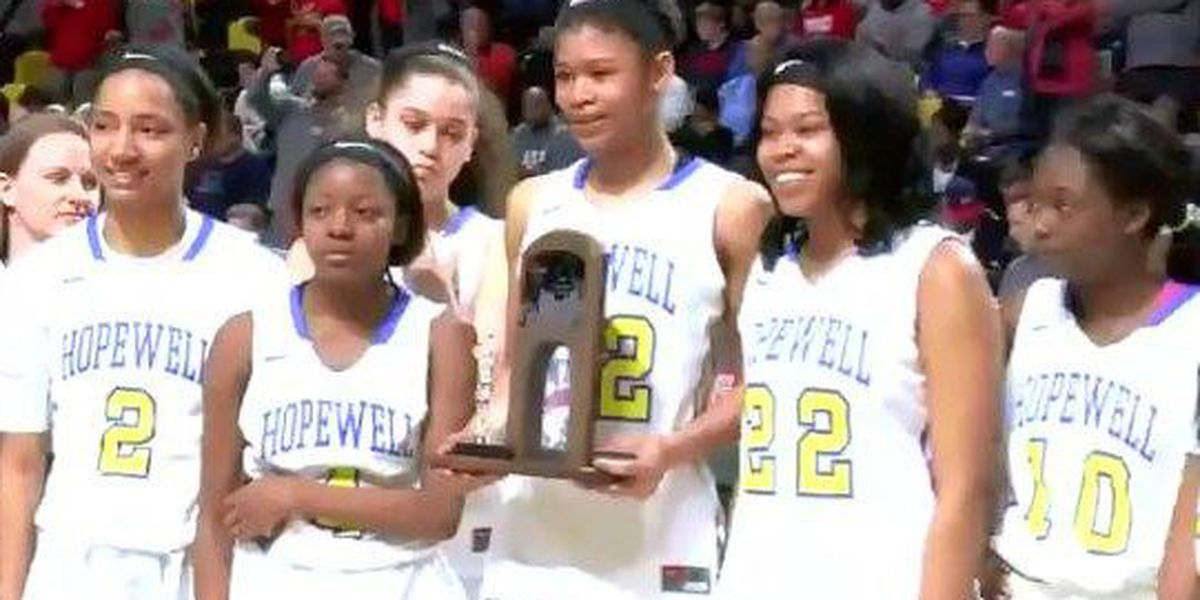 Hopewell girls come up short in state title game