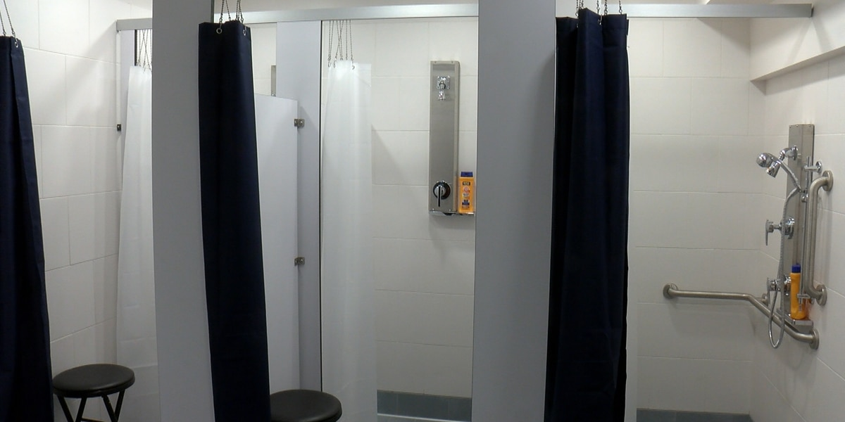 Richmond's First Baptist Church unveils shower renovations for the homeless