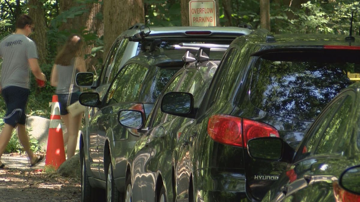 Overcrowding at James River leads to parking issues
